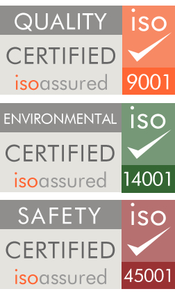 iso assured 9001 14001 and 45001